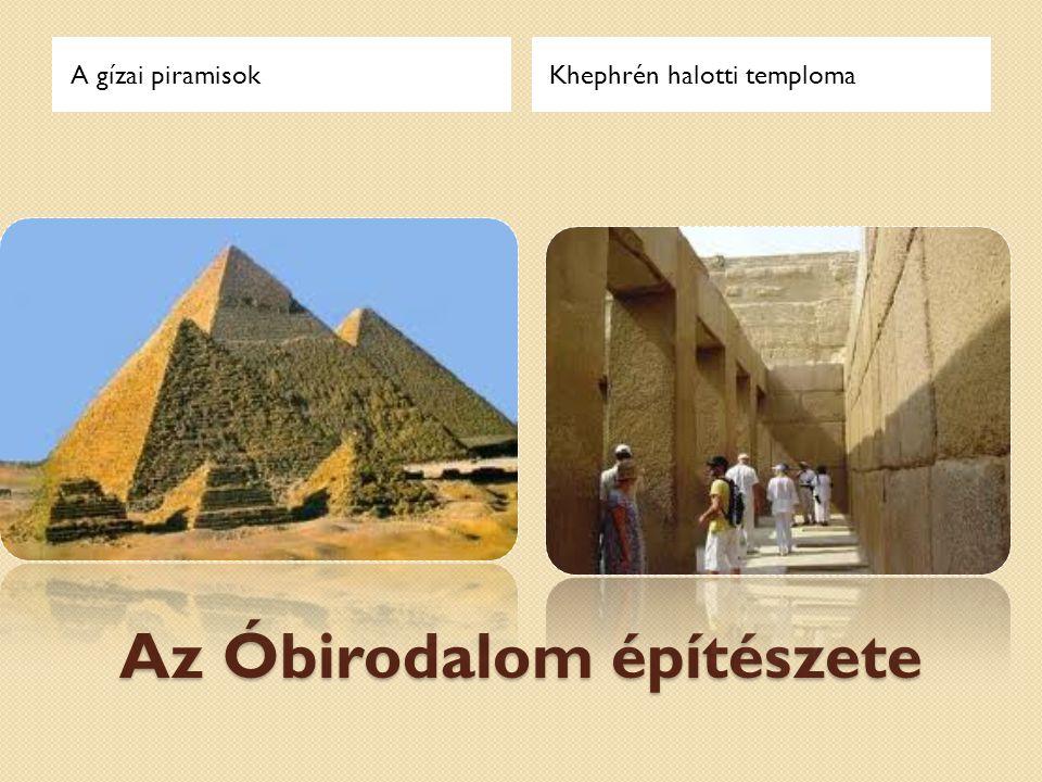 Az Óbirodalom építészete