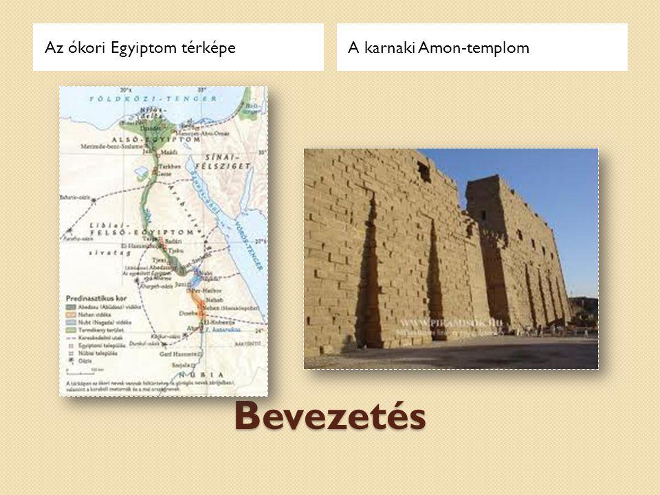 Az ókori Egyiptom térképe
