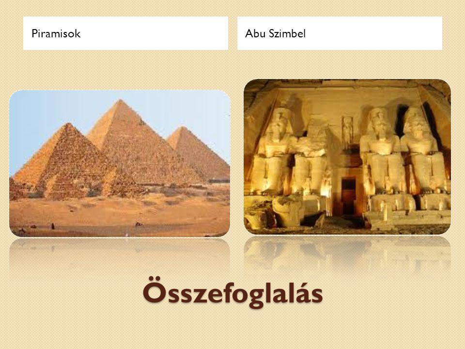 Piramisok Abu Szimbel Összefoglalás