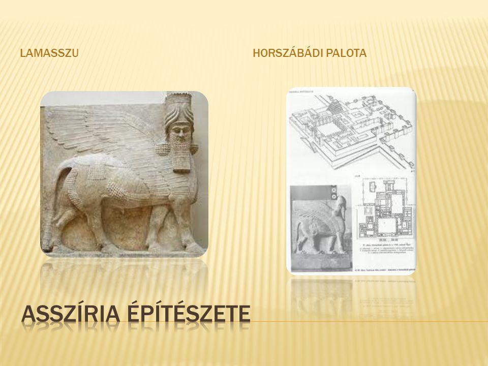 Lamasszu Horszábádi palota Asszíria építészete
