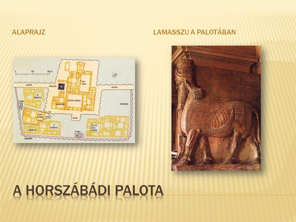 alaprajz Lamasszu a palotában A horszábádi palota