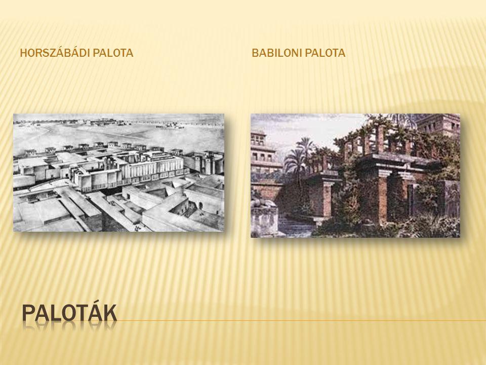 Horszábádi palota Babiloni palota Paloták