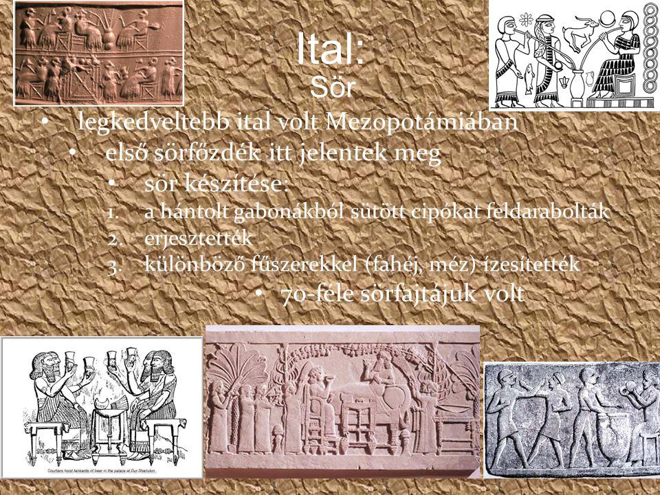 Ital: Sör legkedveltebb ital volt Mezopotámiában
