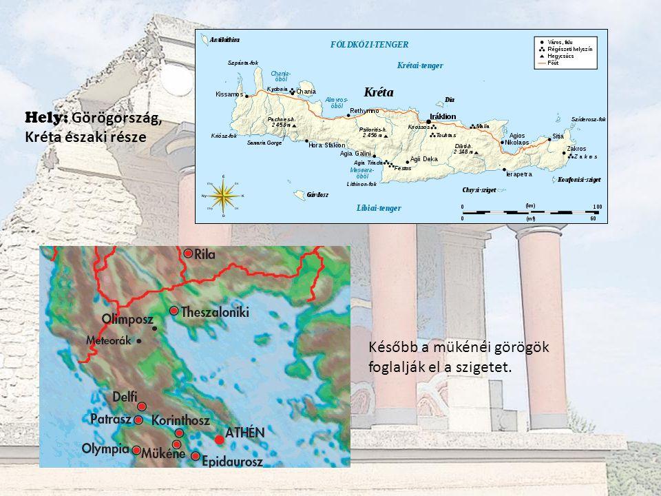 Hely: Görögország, Kréta északi része