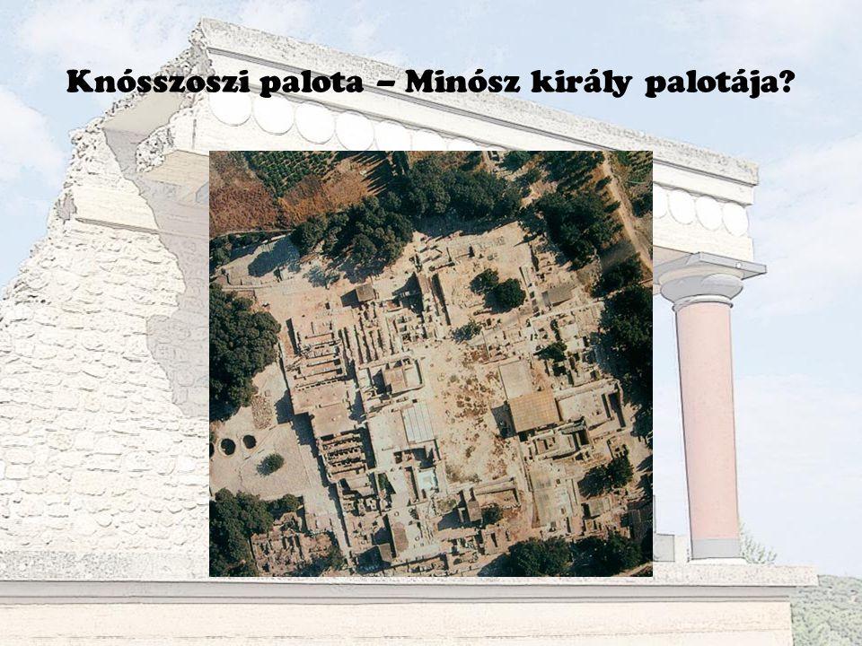 Knósszoszi palota – Minósz király palotája