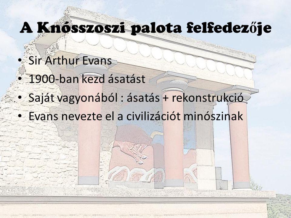 A Knósszoszi palota felfedezője