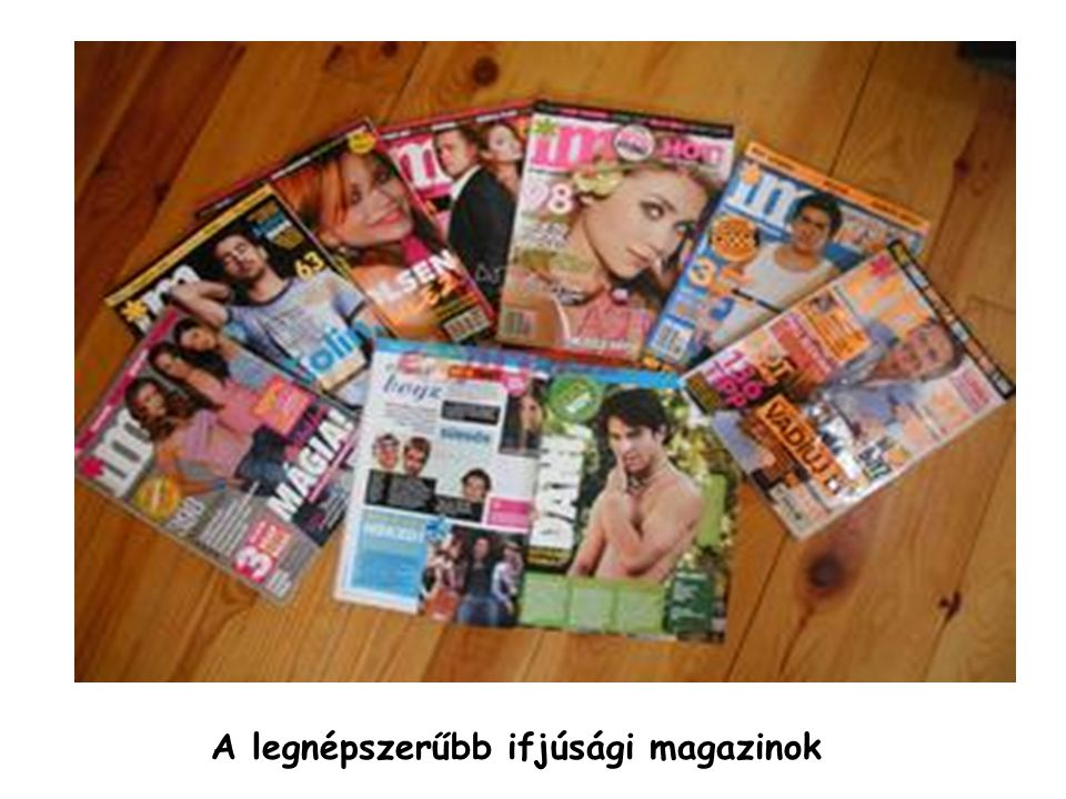 A legnépszerűbb ifjúsági magazinok