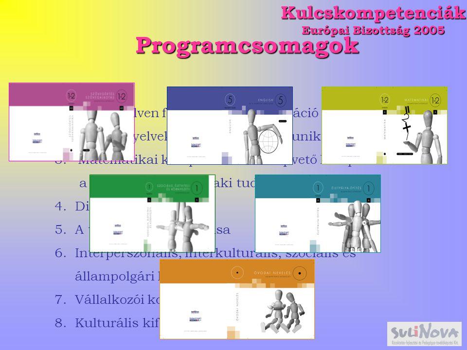 Kulcskompetenciák Európai Bizottság 2005