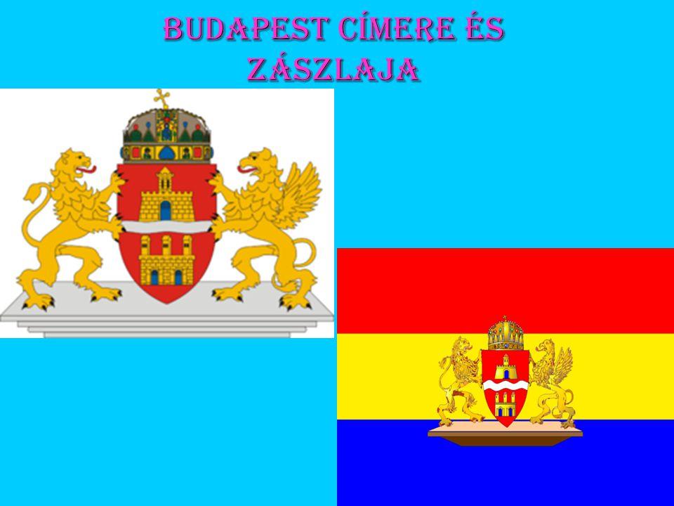 Budapest címere és zászlaja