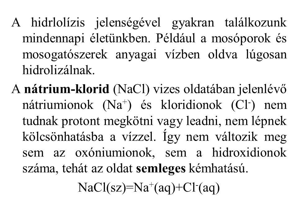 NaCl(sz)=Na+(aq)+Cl-(aq)