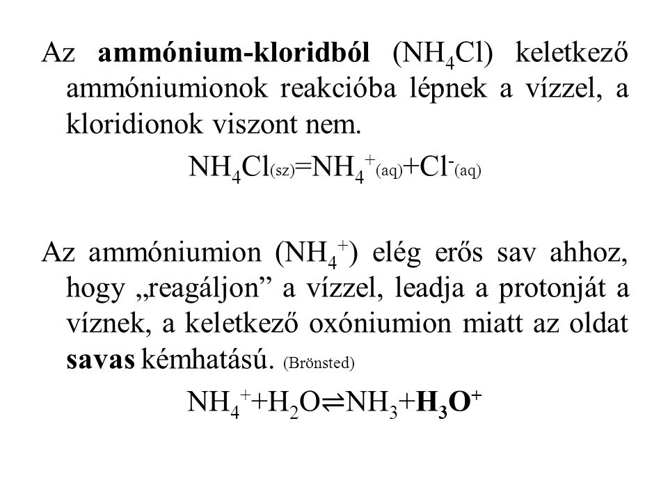 NH4Cl(sz)=NH4+(aq)+Cl-(aq)