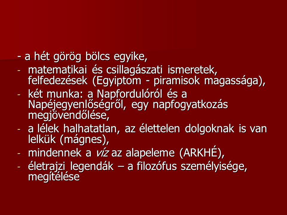 - a hét görög bölcs egyike,