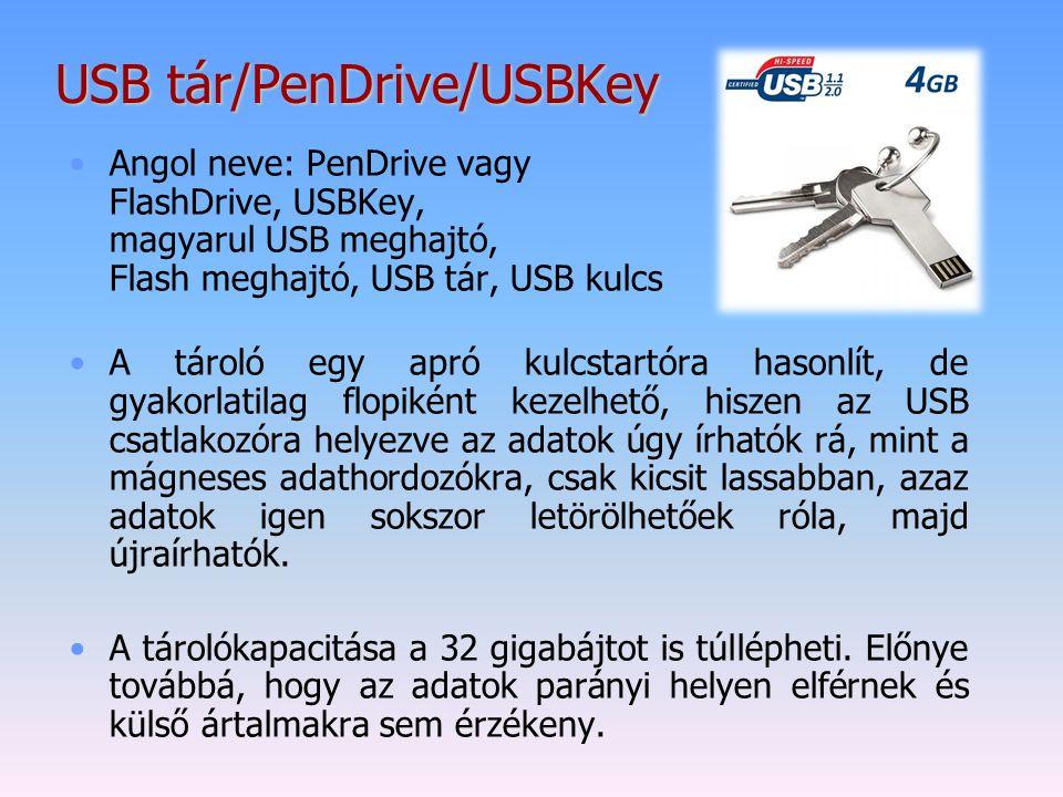 USB tár/PenDrive/USBKey