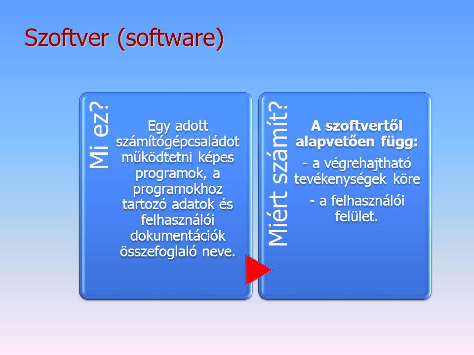 A szoftvertől alapvetően függ:
