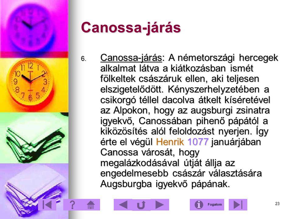 Canossa-járás