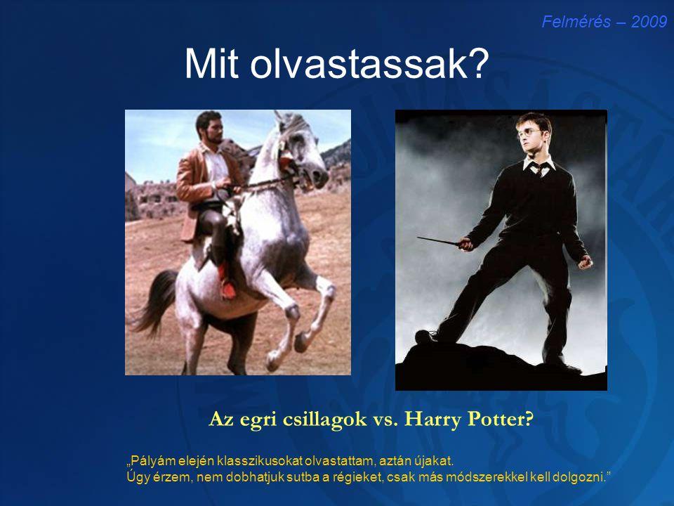 Az egri csillagok vs. Harry Potter