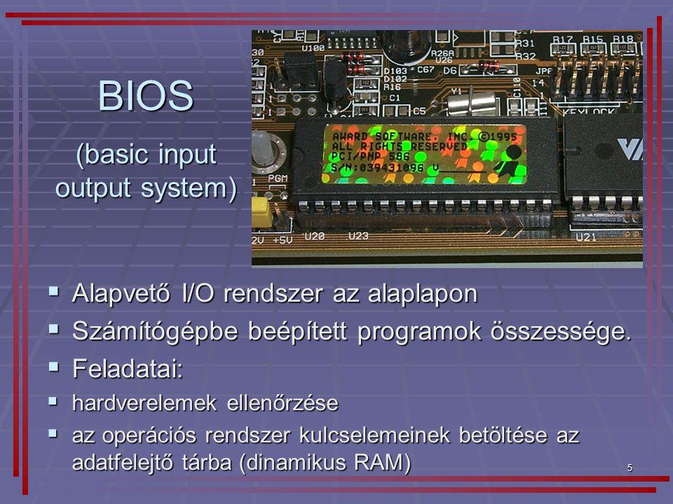 (basic input output system)