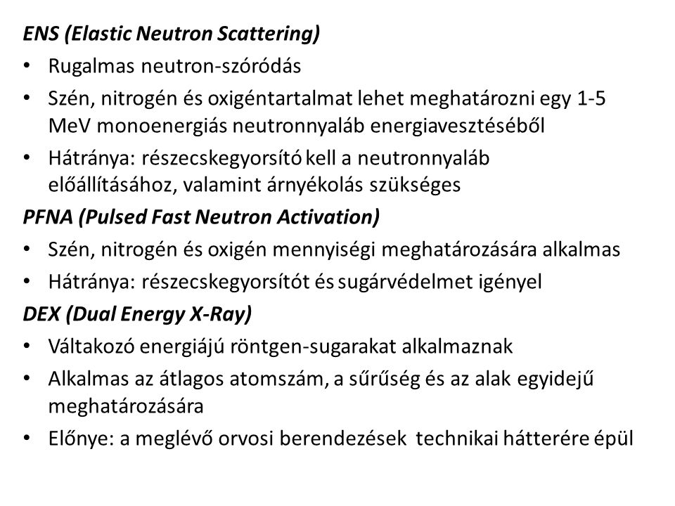 ENS (Elastic Neutron Scattering)