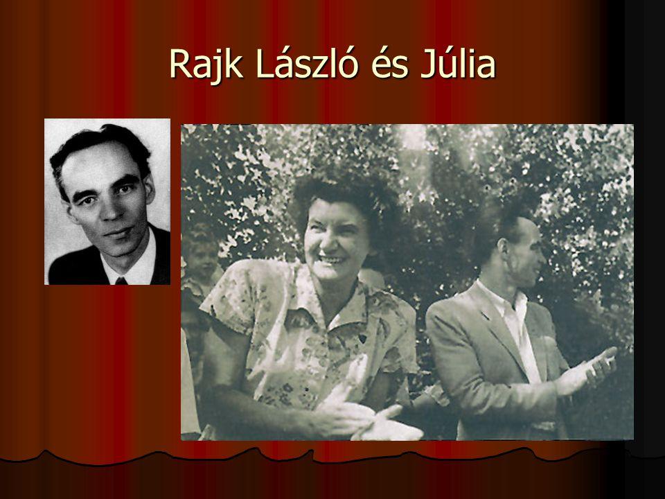 Rajk László és Júlia