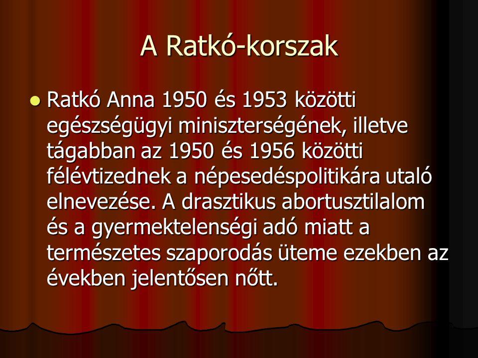 A Ratkó-korszak