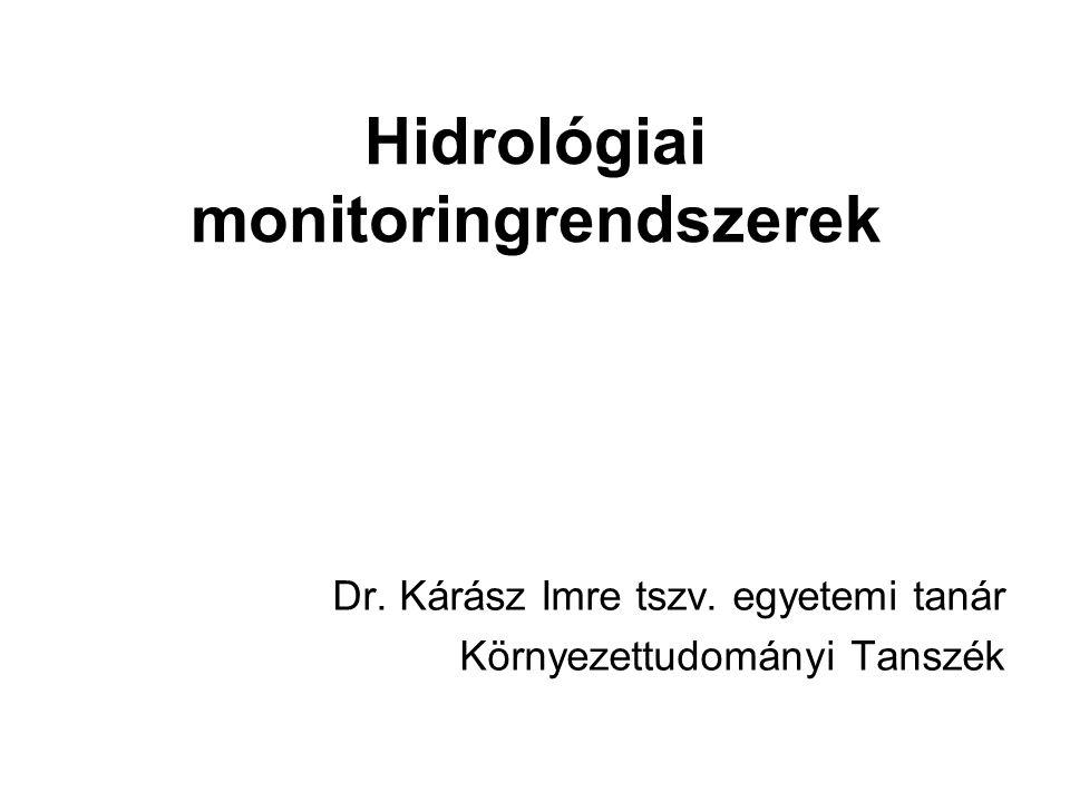 Hidrológiai monitoringrendszerek