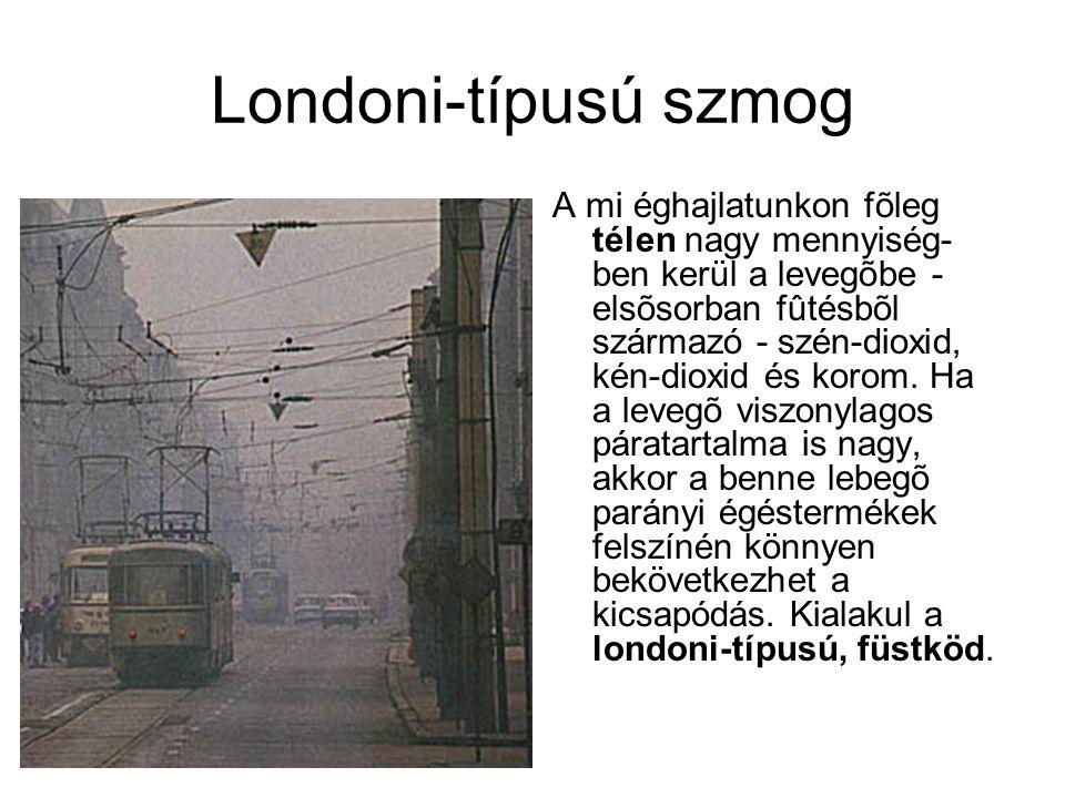 Londoni-típusú szmog