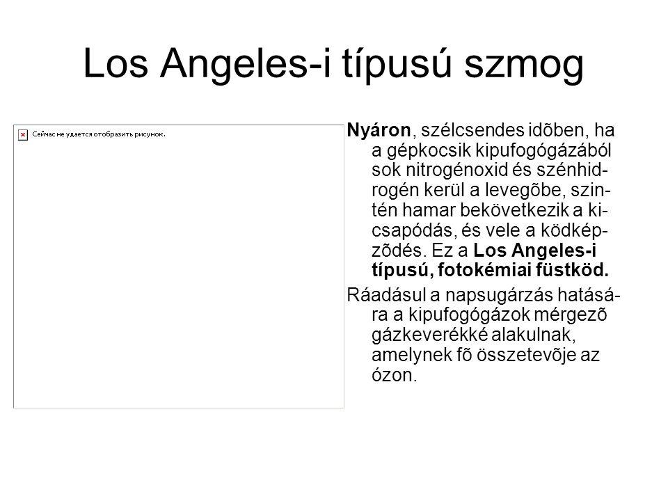 Los Angeles-i típusú szmog