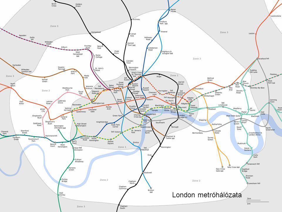 London metróhálózata