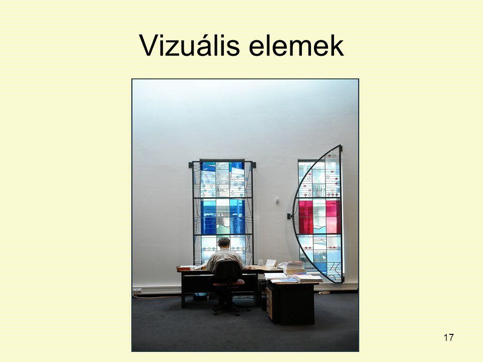 Vizuális elemek
