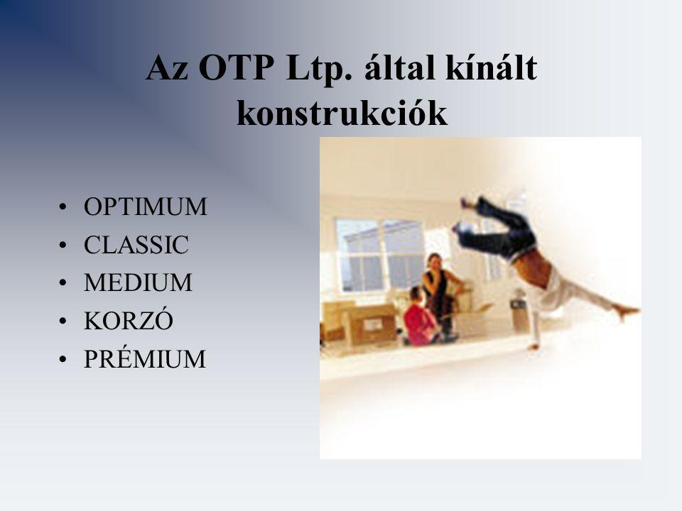 Az OTP Ltp. által kínált konstrukciók