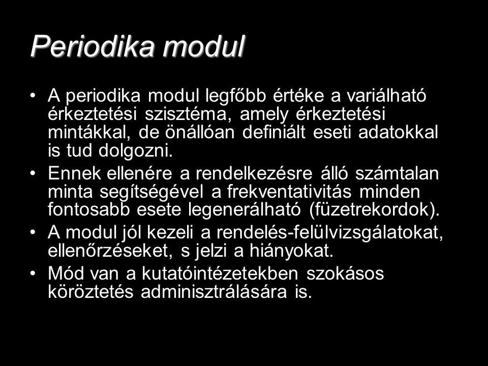 Periodika modul