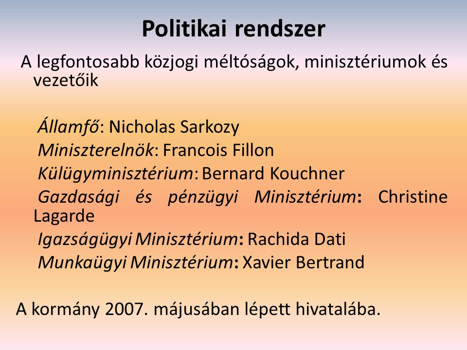 Politikai rendszer