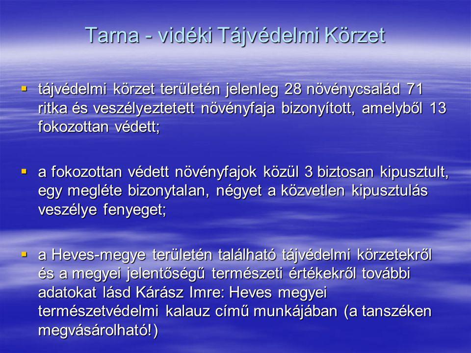 Tarna - vidéki Tájvédelmi Körzet