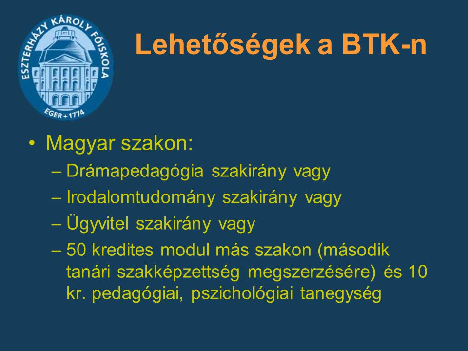 Lehetőségek a BTK-n Magyar szakon: Drámapedagógia szakirány vagy