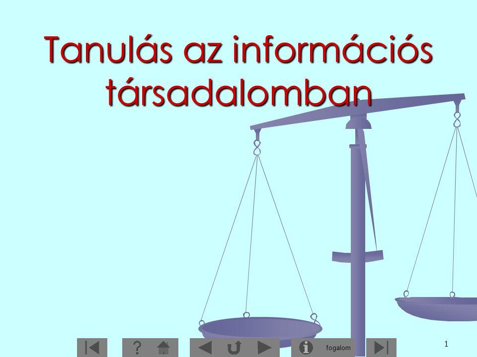 Tanulás az információs társadalomban