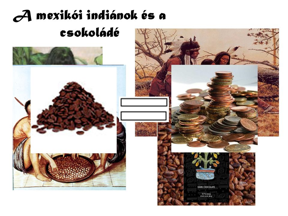 A mexikói indiánok és a csokoládé