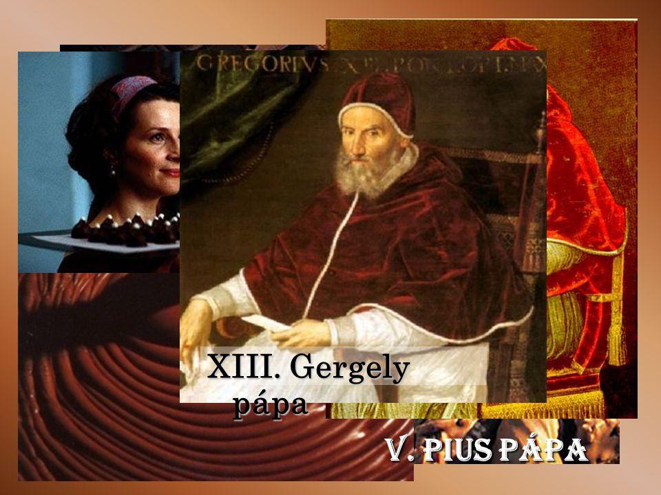 XIII. Gergely pápa V. Pius pápa