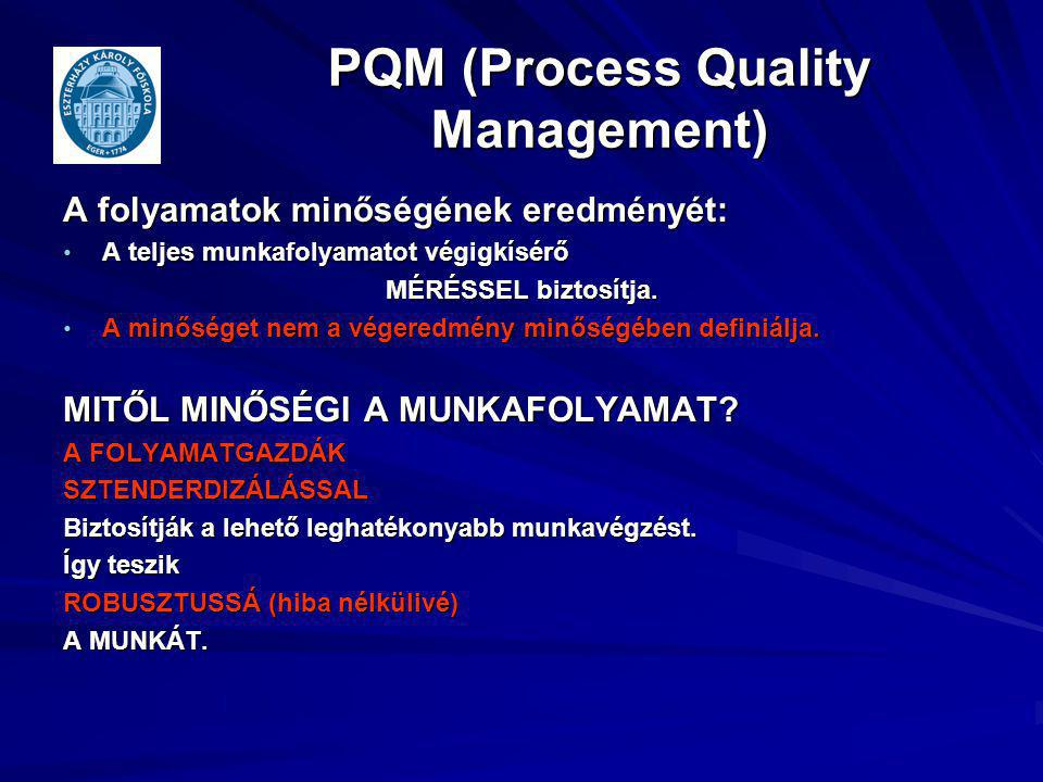 PQM (Process Quality Management)