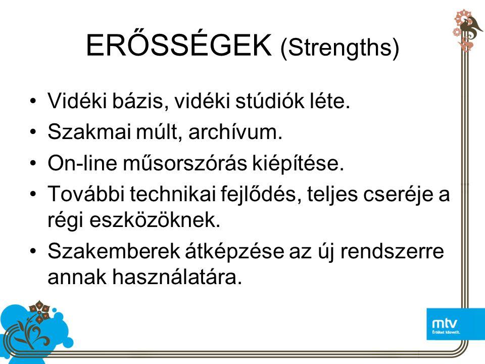 ERŐSSÉGEK (Strengths)