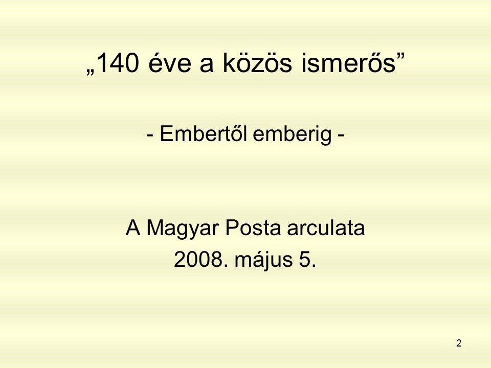 A Magyar Posta arculata