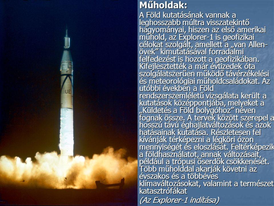 Műholdak: