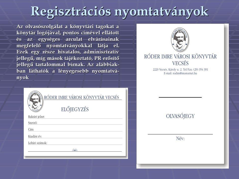 Regisztrációs nyomtatványok