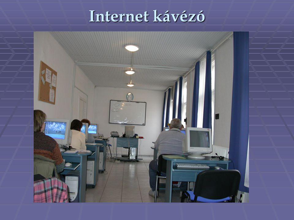Internet kávézó