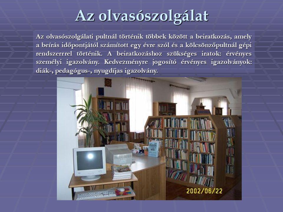Az olvasószolgálat