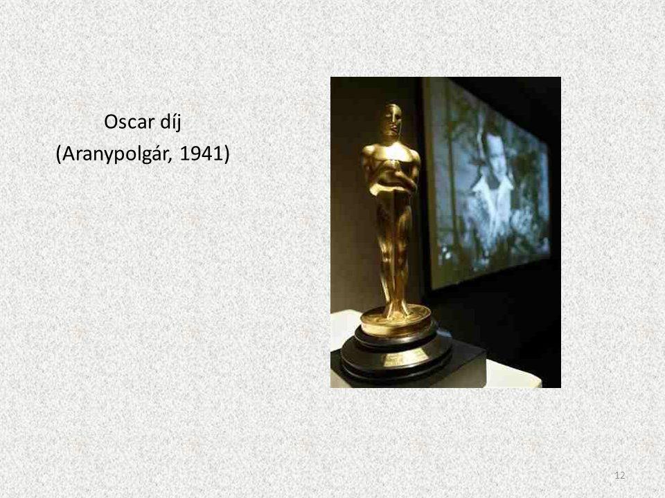 Oscar díj (Aranypolgár, 1941)