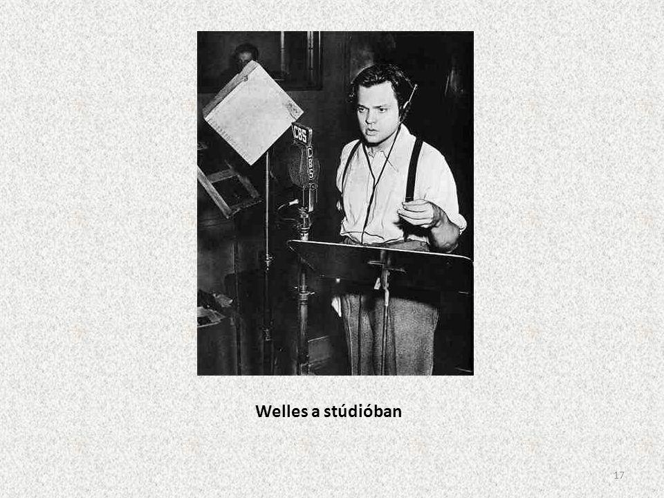 Welles a stúdióban