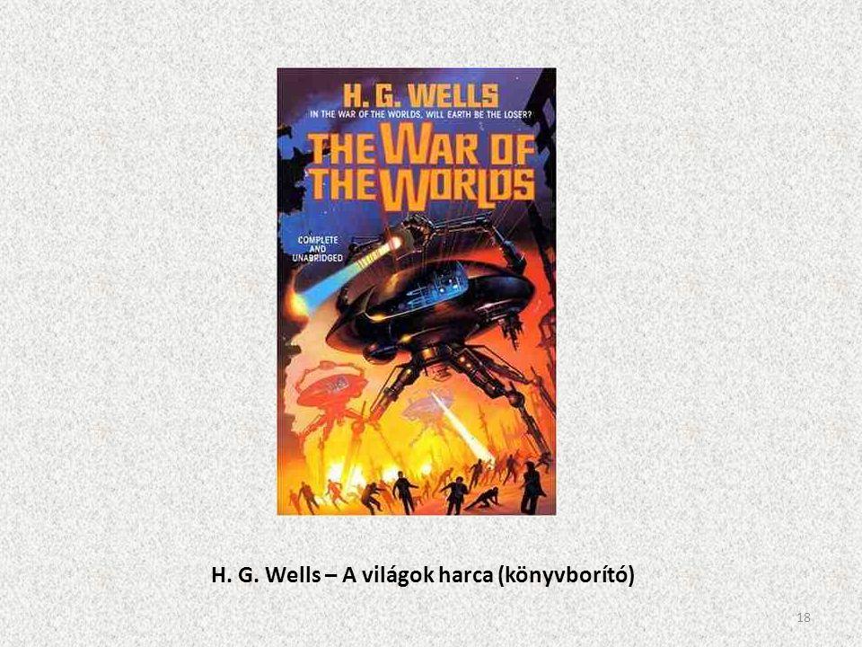 H. G. Wells – A világok harca (könyvborító)