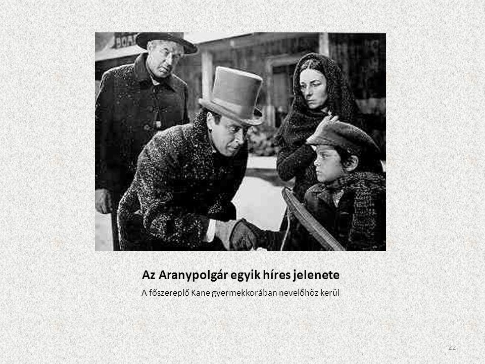 Az Aranypolgár egyik híres jelenete