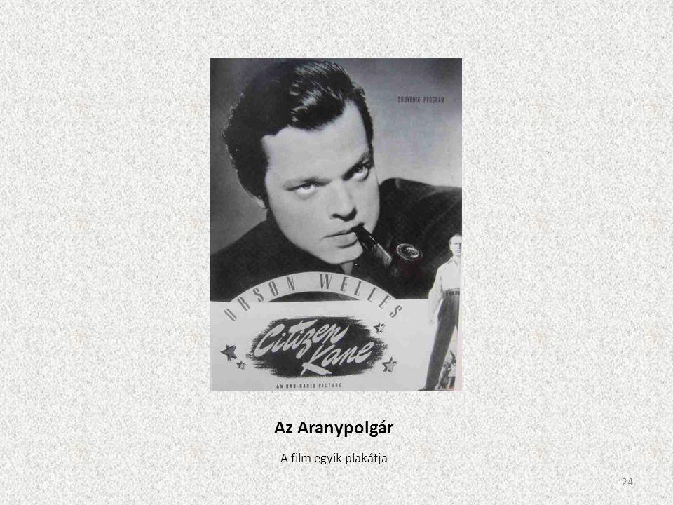 Az Aranypolgár A film egyik plakátja