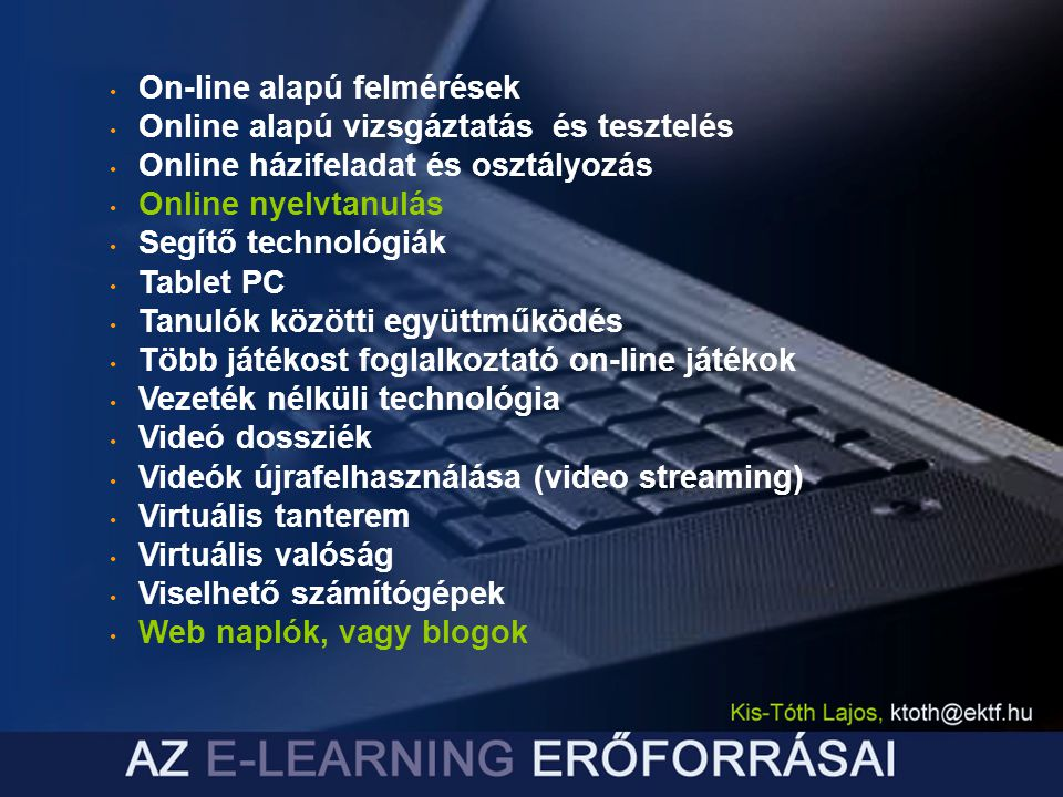 On-line alapú felmérések